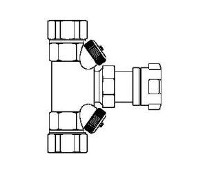 Hycocon A - zawór odcinający, obustronnie zamontowane zawork
