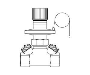 Hycocon DP regulator różnicy ciśnień