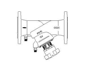 Hydrocontrol F - zawór równoważący, kołnierzowy, żeliwo szar