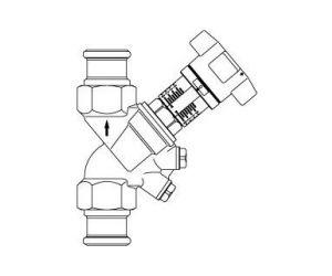 Hydrocontrol R - obustronnie złącze prasowane