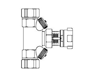 Hycocon V - zawór równoważacy, GZ
