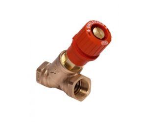 V5000 zawór równoważąco-odcinający Kombi-3-plus (czerwony)