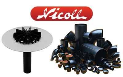 Nicoll – Odwodnienia dachu