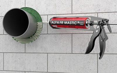 ALFA FR MASTIC – Zabezpieczenia rur niepalnych